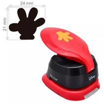 Furador de Papel e EVA Toke e Crie Jumbo Disney FJAD04 Luva Mickey Mouse -