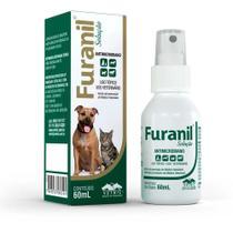 Furanil Spray Solução Antimicrobiano Vetnil 60ml -