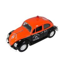 Fusca Polícia Militar-SP 1967 VW 1/24 California Collectibles 24202-2 - California toys
