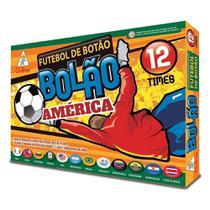 Futebol de Botão - América - 12 Seleções - Gulliver -