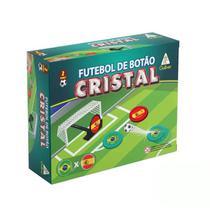 Futebol de Botão Cristal Brasil x Espanha Gulliver -