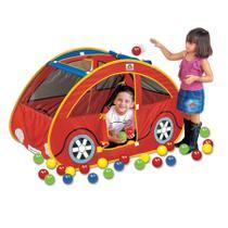 Futoca Ball Toca Infantil com 100 Bolinhas Coloridas - Braskit -