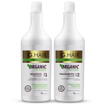 G.hair organic therapy kit shampoo + tratamento anti volume 1l - Inoar