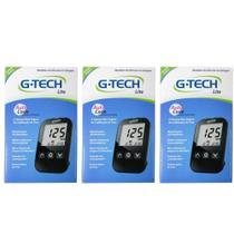 G Tech Free Lite Aparelho Medidor de Glicose C/10 Tiras (Kit C/03) - G life