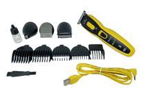 GA.MA ITALY máquina barbear elétrica kit completo 9x1 bivolt -