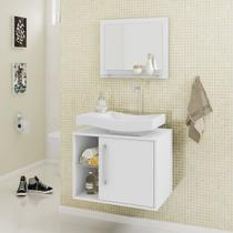 Gabinete Armário para Banheiro com Pia Wave - Docelar