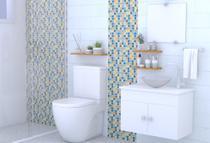 Gabinete de Banheiro Cuba de Vidro + Espelho London VDRD 60cm - Barbaresco & Prado