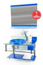 Gabinete de Vidro 70cm para banheiro Turquia - Ekasa