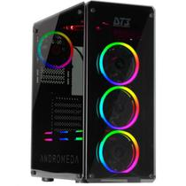 Gabinete Dt3 Sports Gaming Andromeda Black Edition Sync Tempered Glass Mid Tower C/Janela - 11651-4