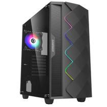 Gabinete Gamer ATX Black Diamond ARGB Gamemax - 3601 -
