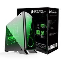 Gabinete gamer bg-007 bluecase - usb 3.0