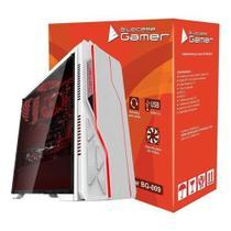 Gabinete gamer bg-009 branco s/ fonte usb 3.0 bluecase -