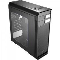 Gabinete Gamer Mid Tower AERO-500 WINDOW EN55576 Preto AEROCOOL -