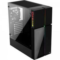 Gabinete Gamer Mid Tower PLAYA RGB Vidro Temperado AEROCOOL -