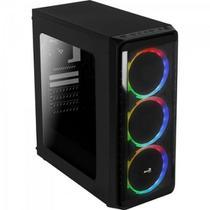 Gabinete Gamer Mid Tower SI-5200 Preto AEROCOOL -