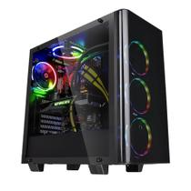 Gabinete Gamer Thermaltake Ca-1I3-00M1wn-04 View 21 Tg Mid Tower Preto
