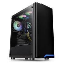Gabinete Gamer Thermaltake H100 TT Preto -