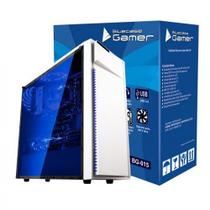 Gabinete Gamer USB 3.0 Frontal Lateral Transparente Bluecase BG-015 Branco - Blue case