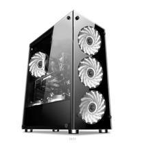 Gabinete gamer video atx 01150 4 coolers - Xway