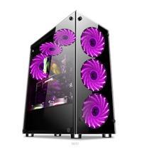 Gabinete gamer video atx 01150 8 coolers - Xway