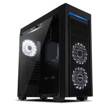 Gabinete Horus Gamer Full Tower Preto E-atx Atx M-atx Itx - MCA-HORUS/BK -