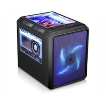 Gabinete K-Mex CG-01RC Microcraft Gamer Cubo microATX / ITX CG01RCRH001CB0X -