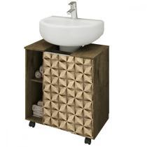 Gabinete para Banheiro 1 Porta Pequin Bechara -