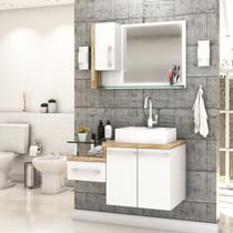 Gabinete para Banheiro C/cuba RT41 e Espelheira Legno 830 - Compace