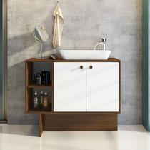 Gabinete para Banheiro com 2 Portas Tok - Estilare -