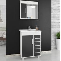 Gabinete para Banheiro com Pés Balcony Saara 65cm -