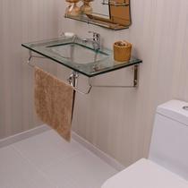 Gabinete para Banheiro de Vidro Hércules Astra Transparente -