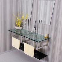 Gabinete Para Banheiro De Vidro Picasso Astra GP-P Transparente -