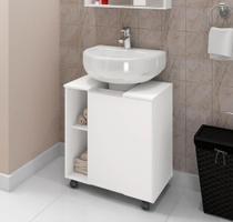 Gabinete para Banheiro Pequin Branco - Bechara