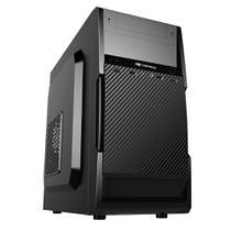 Gabinete PC Micro ATX MT-25BK 2 baias com Fonte 200W C3Tech -