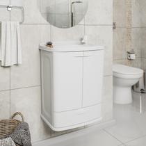 Gabinete Suspenso Para Banheiro Astra GAB5 Com Lavatório -
