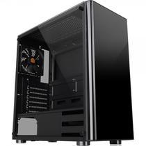 Gabinete Thermaltake Tt V200 Tg Black Tempered Glass X1 Mid Tower C/Janela - CA-1K8-00M1WN-00 -