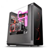 Gabinete Thermaltake Tt View 27 Black Led Red Mid Tower C/ Janela - CA-1G7-00M1WN-RE