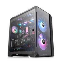 Gabinete TT View 51TG ARGB/T.GLASS3/ARGB200MM*2+120MM*1 CA1Q600M1WN00* - Thermaltake