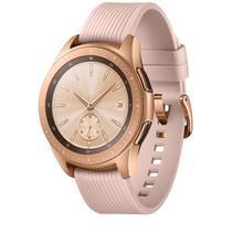 """Galaxy Watch LTE 42mm Samsung Rosé com 1,2"""", Pulseira de Silicone, Bluetooth e 4GB -"""
