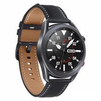 """Galaxy Watch3 45mm Samsung Preto com 1,4"""", Pulseira de Couro, Bluetooth, LTE e 8GB - SM-R845FZKPZTO -"""