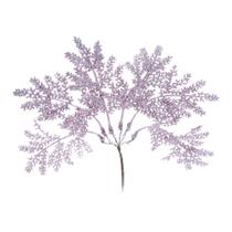 Galho Para Árvore Natal Decoração Natal 20Cm Rosa Cromus