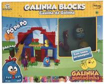 Galinha Pintadinha Casinha da Galinha Blocks - Yellow -