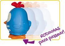Galinha Pintadinha Mini Musical Brinquedo Infantil Bebê 12 Meses Rodinha Música Boneca Boneco Elka Original -