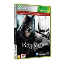 Game batman arkham asylum + city - xbox 360 - Warner