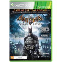Game batman arkham asylum goty - xbox 360 - Warner