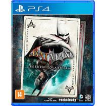 Game Batman Return to Arkham - PS4 - Rocksteady