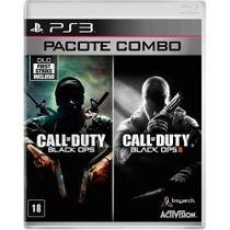 Game Combo: Call of Duty Black Ops I  II - PS3 - Playstation