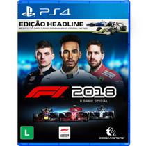 Game Fórmula 1 2018 Headline Edition - PS4 - Playstation