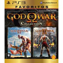 Game God Of War Collection Favoritos - PS3 - Playstation