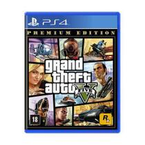 Game Grand Theft Auto V (GTA 5) Premium Edition (Edição Premium) - PS4 - Playstation